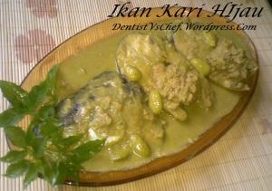 resep ikan kari hijau gulai ijo