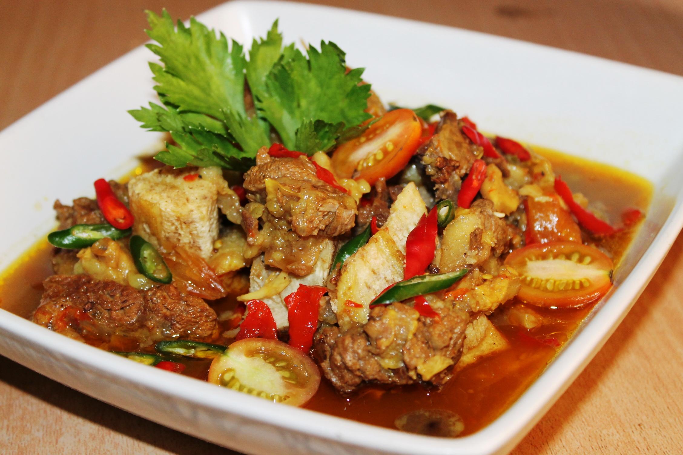 Resep Pindang Tulang Khas Palembang ala Dentist Chef