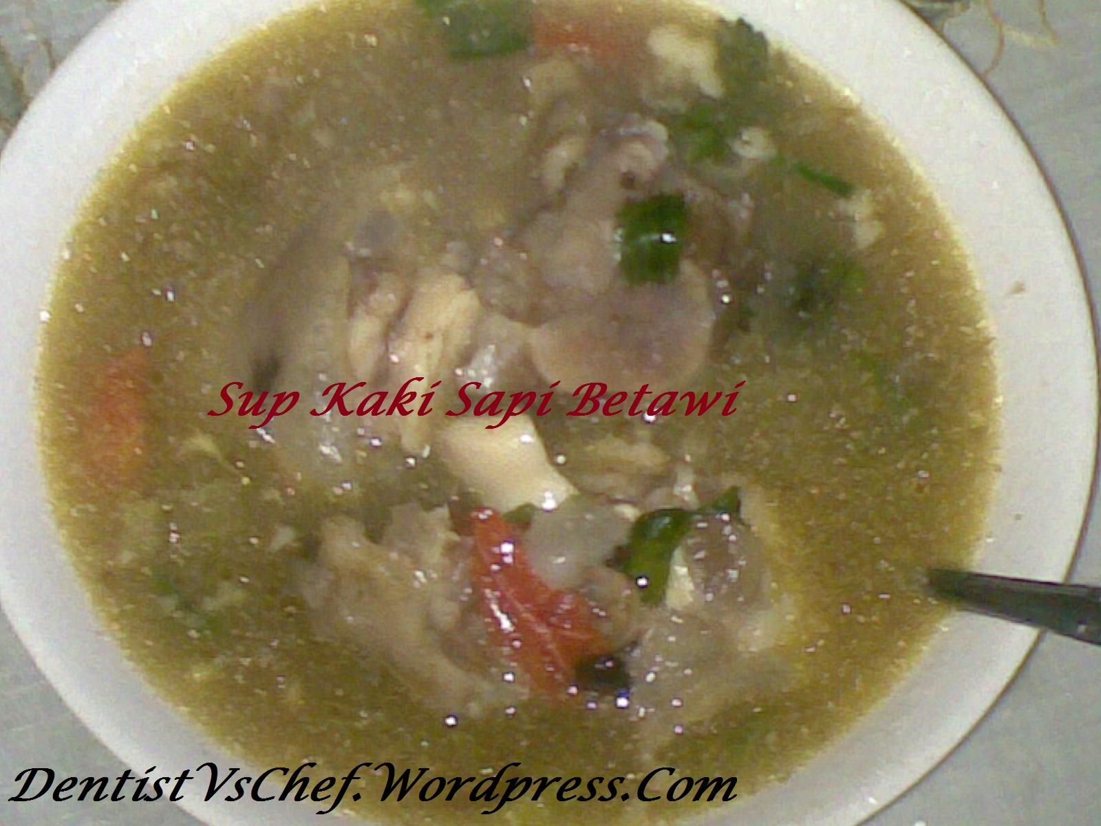 Resep Sop Kaki Sapi khas Betawi ala Dentist Chef | DENTIST CHEF