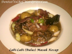 Resep Angsio Bulus/ Labi-labi khas Anhui ala Dentist Chef