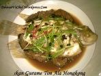 Resep ikan steam tim hongkong