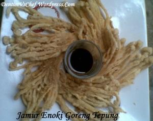 resep jamur enoki goreng tepung