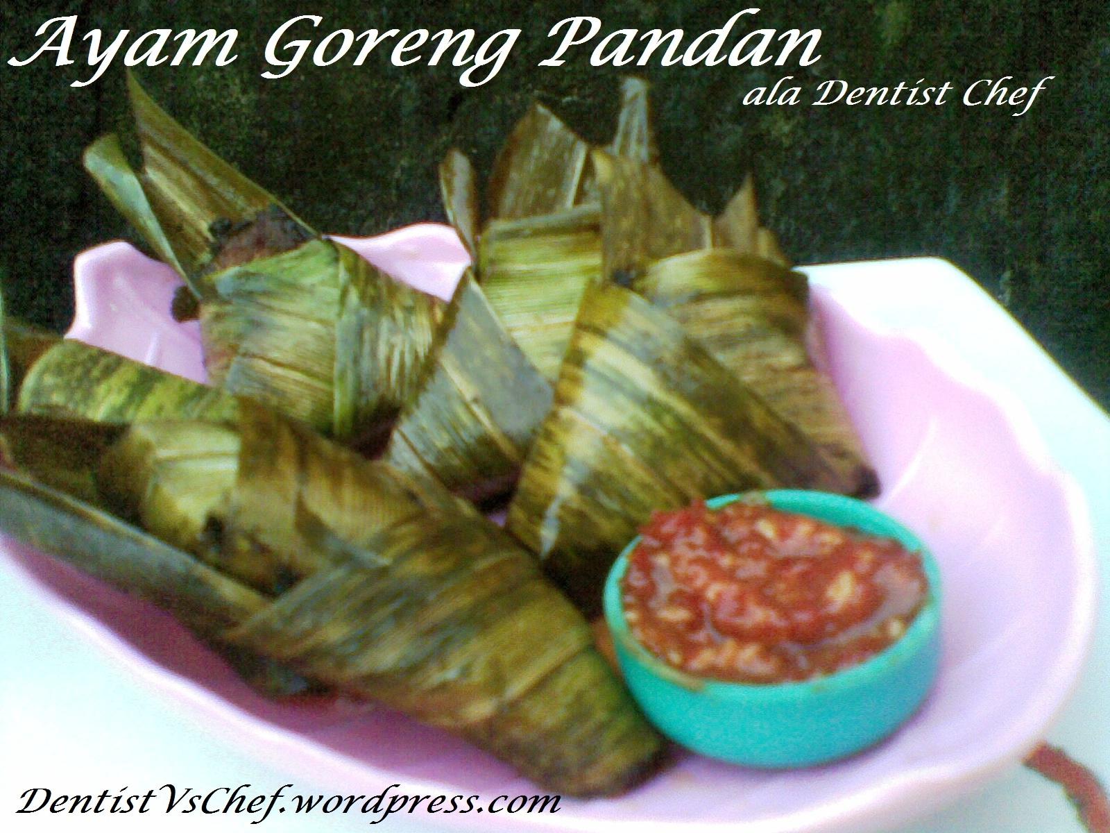 Resep Ayam Pandan Thailand ala Dentist Chef | FACEBOOK | TWITTER