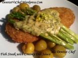 resep steak ikan cordon bleu saus krim daun dill