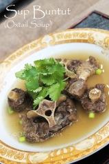 resep sup buntut sapi oxtail beef soup recipe