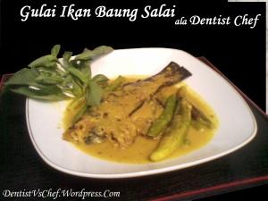 resep gulai ikan salai baung