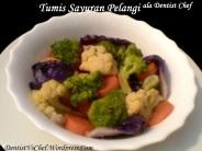resep sayuran pelangi warna warni