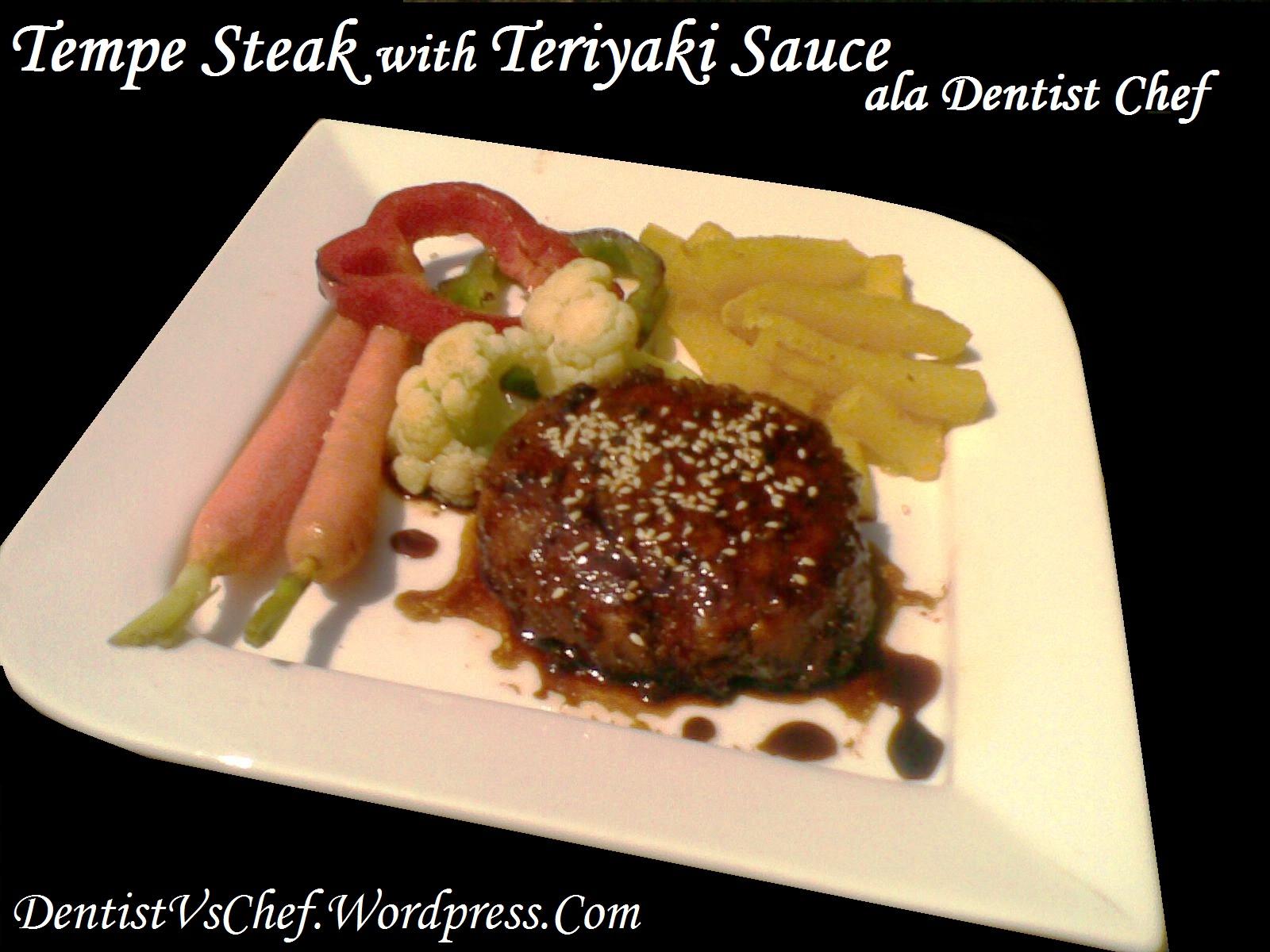 tempe yang istimewa adalah steak tempe steak tempe ini sebenarnya