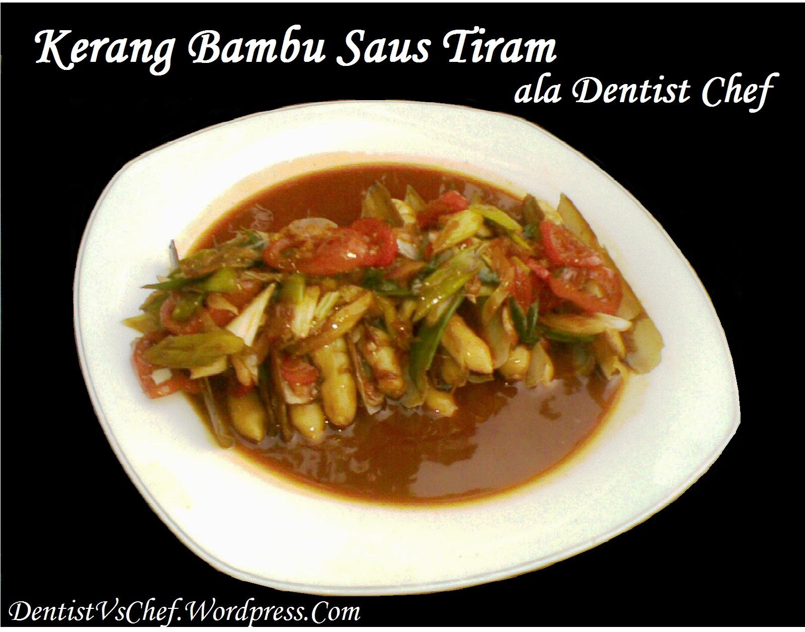 Resep Kerang Bambu Saus Tiram Ala Dentist Chef