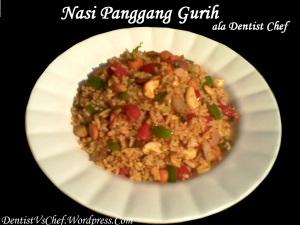resep nasi panggang gurih