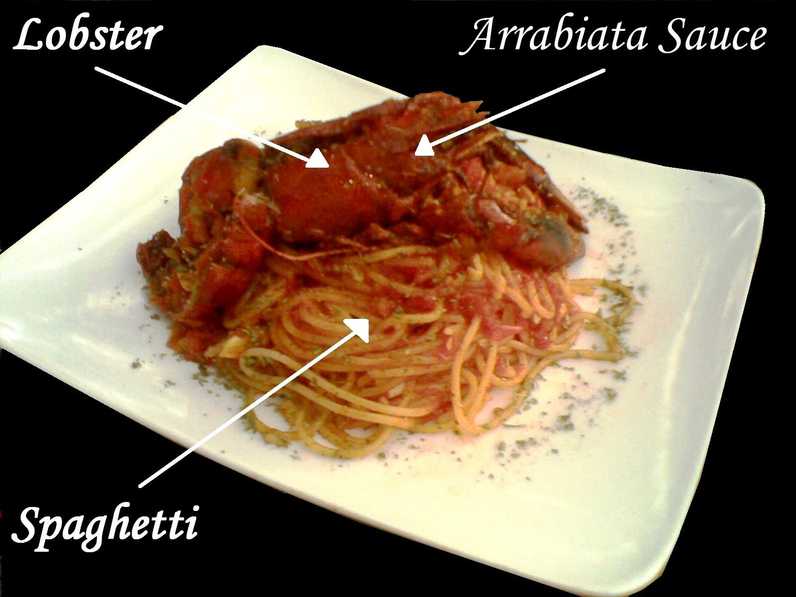 resep-lobster-spaghetti-arrabiata-sauce-cryfish Beberapa macam Pasta