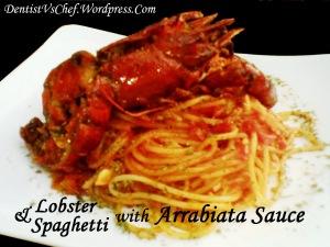 resep lobster spaghetti arrabiata saus italia