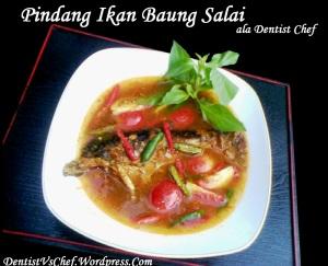 resep pindang ikan salai baung