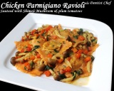 recipe chicken parmigiano cheese ravioli