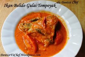 resep ikan belido belida gulai tempoyak