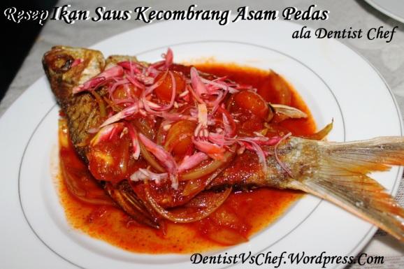 resep ikan saus kecombrang asam pedas