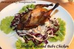 Stuffed Roasted Baby Chicken Recipe