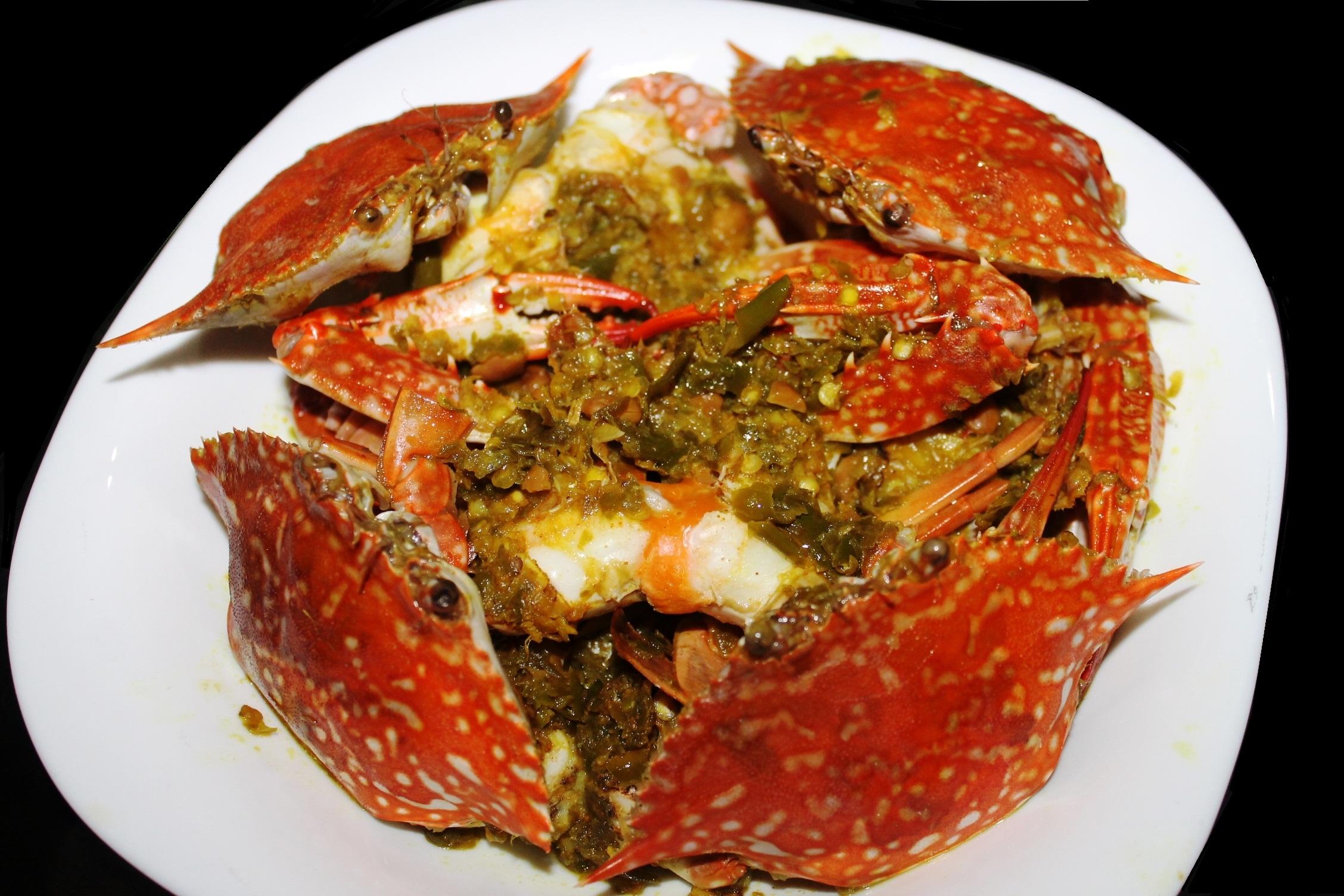 blue crab recipe | DENTIST CHEF