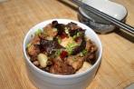 resep ayam tim tausi jamur chinese style