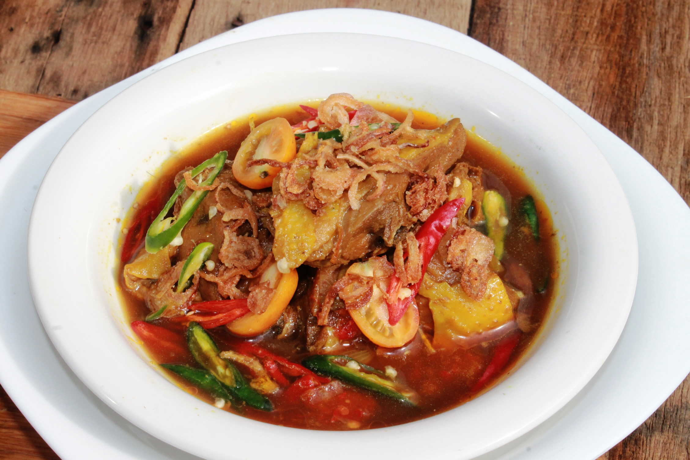 Chicken Recipe : Thai Style Spicy Chicken Soup (Resep Tom ...