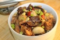 steamed chicken recipe blackbean tausi tofu