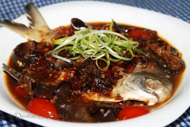 steamed pomfret black bean sauce recipe chinese style