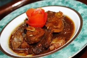 braised beef shank sweet soy sauce