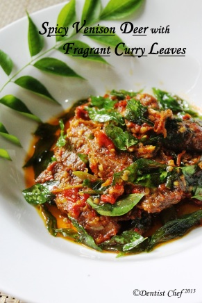 Steak daging rusa