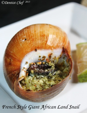 escargot recipe french style giant land snail