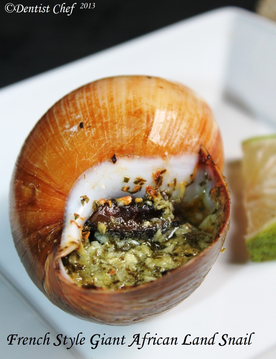 Recipe french style escargot wannabe giant african land