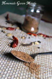 garam masala homemade mixture spice india