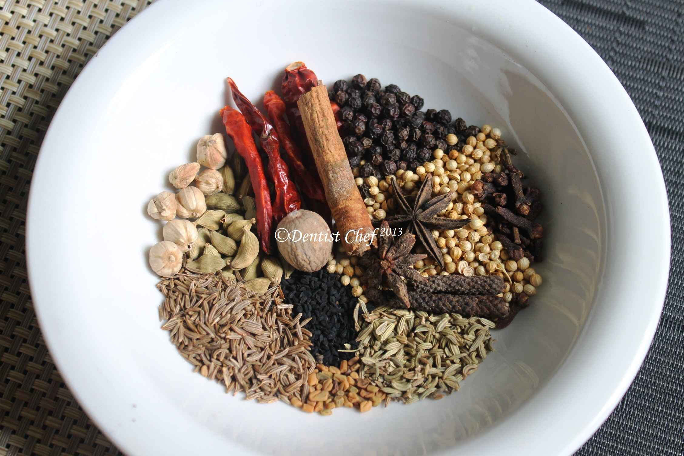 Homemade Garam Masala (Indian Spice) From Scratch ala Dentist Chef ...