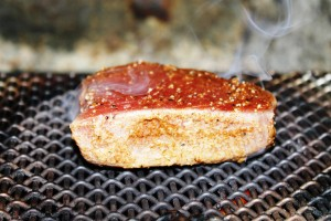 how grill tuna recipe step seared tuna steak