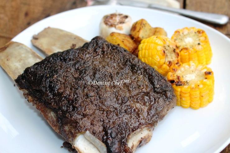 oven roasted ribs beef garam masala