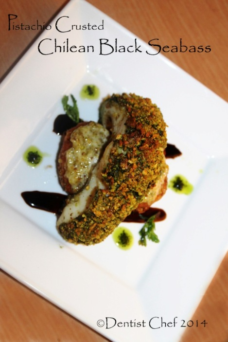 pistachio crusted fish recipe oven roasted sea bass