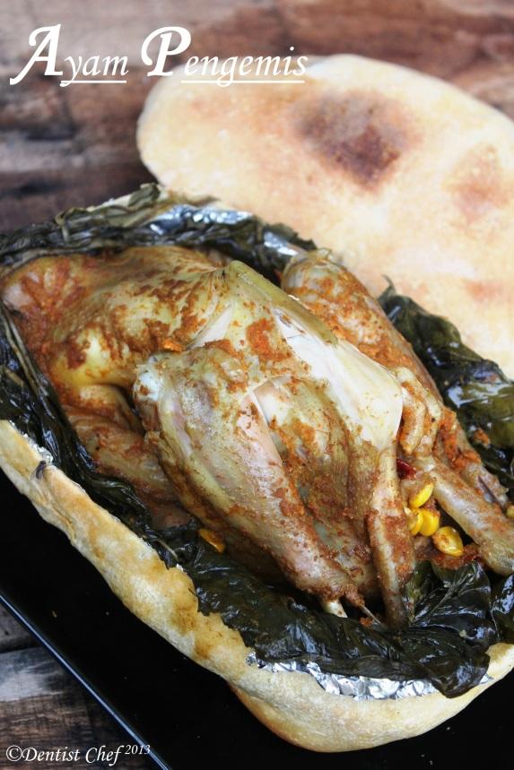 resep ayam pengemis kampung  sincia tahun baru cinbeggar chicken step by step