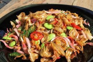 resep ikan asin tumis goreng enak pedas mudah
