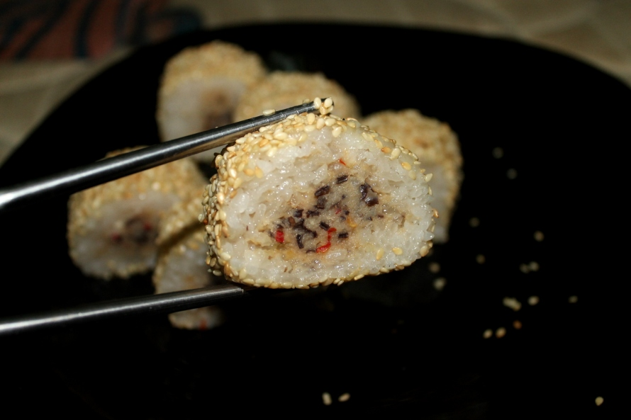 resep ketan isi ayam jamur resep dimsum populer