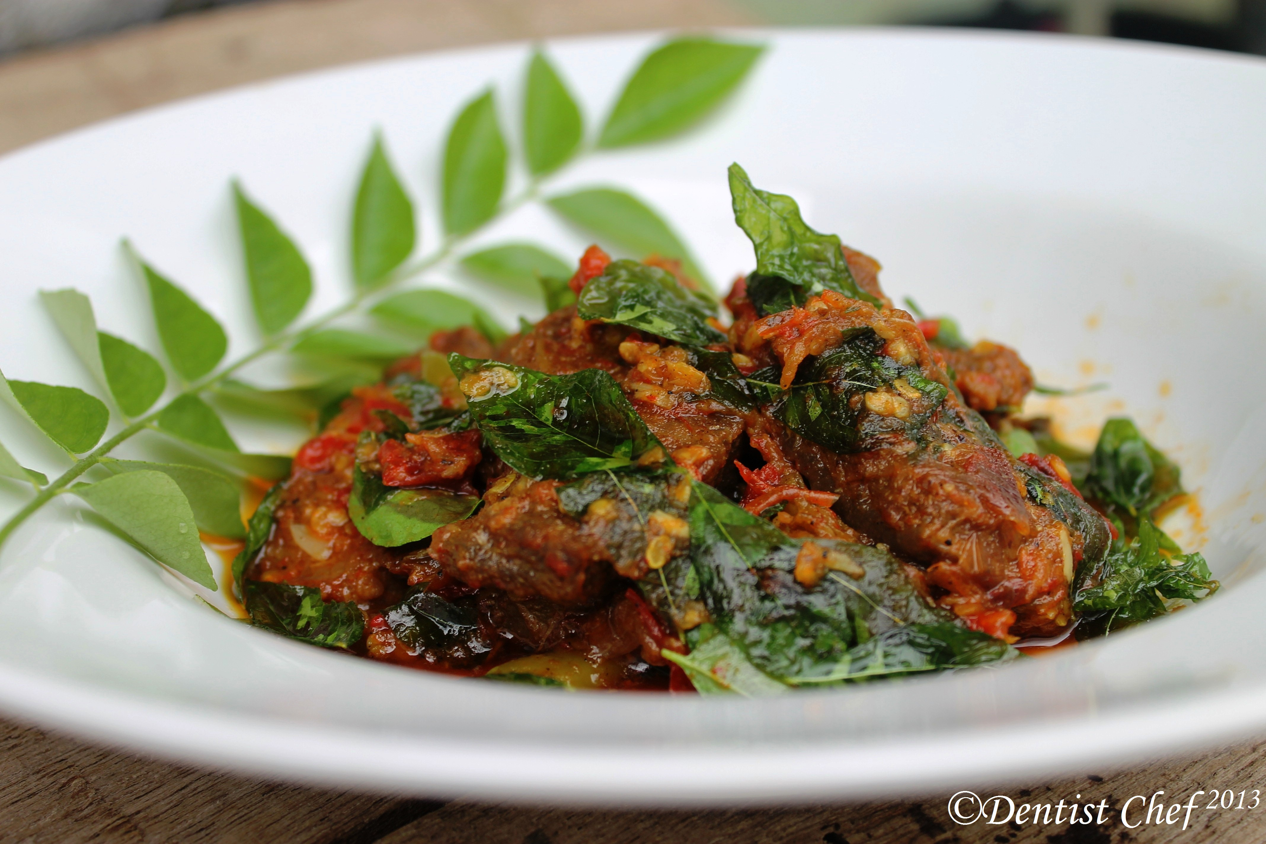 Spicy Venison Deer Meat With Curry Leaves Ala Dentist Chef Dentist Chef