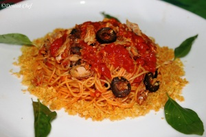 resep spaghetti ikan sarden con le sarde pasta recipe