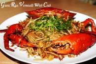rice vermicelli crab recipe stir fry blackpepper
