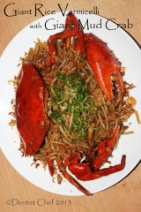 rice vernicelli crab stir fry black pepper recipe