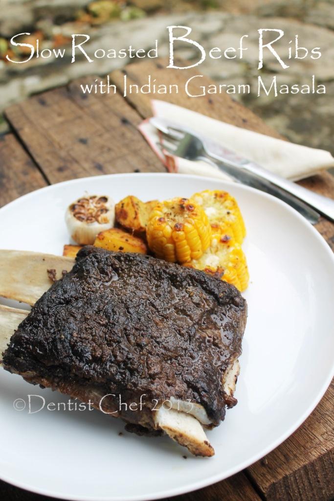 slow roasted beef ribs garam masala recipe