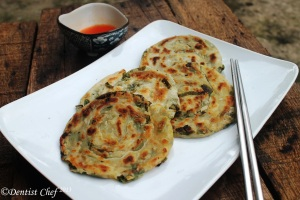 spring green onion pancake recipe