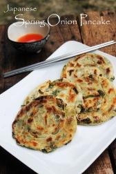 spring onion pancake japanese recipe scallion chinese pancake