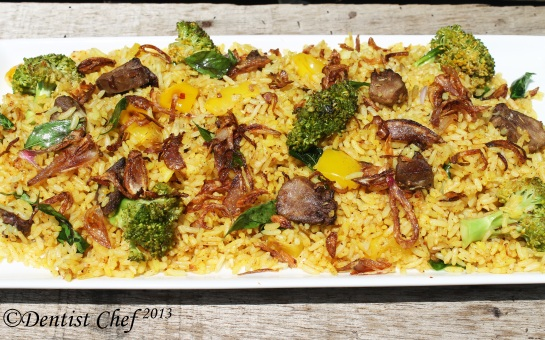 biryani rice recipe lam mutton vegetable arabian recipe indian recipe rice dish