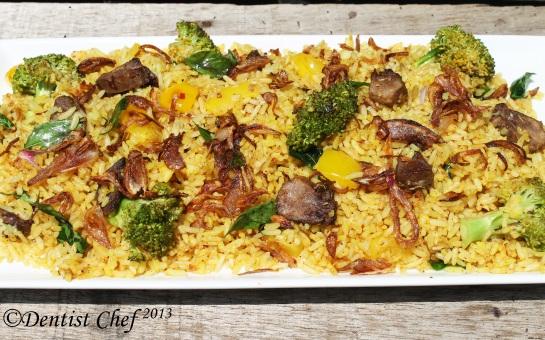 biryani rice recipe lam mutton vegetable arabian recipe indian recipe rice dish
