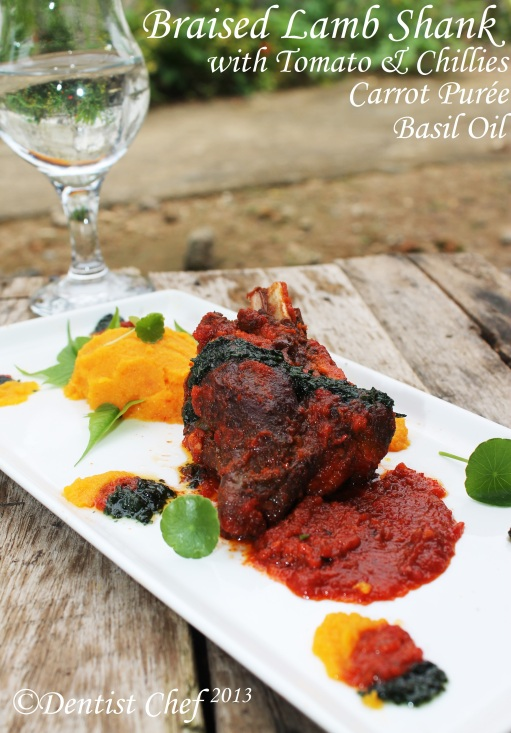 braised lamb shank recipe tomato chili spicy how make braised lamb shank recipe