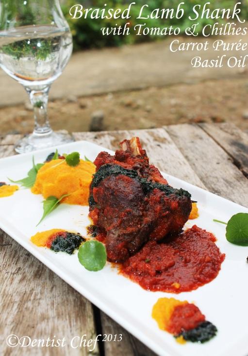 braised lamb shank recipe tomato chili spicy how make braised lamb ...