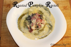 homemade ravioli recipe pumpkin filling ravioli
